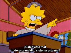 Reasons Lisa Simpson Is a Feminist Icon As 'The Simpsons' Marks 25 Years on Air, 9 Ways Lisa Simpson Is Our Ultimate Feminist Icon Simpsons Meme, The Simpsons, Simpsons Frases, Simpsons Quotes, Cartoon Quotes, Lisa Simpson, Simpson Tumblr, Phineas Et Ferb, Cartoon Memes