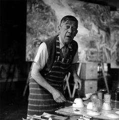 1950. Lee Miller: Oskar Kokoschka, London, England © Lee Miller Archives