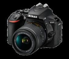 Nikon D5600 Digital SLR Camera  Nikkor 18-55mm VR AF-P Zoom Lens Kit