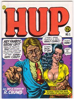 Robert Crumb. Hup No.1 (1987)