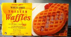 Are you gluten-free? There's no need to give up the convenience of frozen waffles. Seven brands make a wide variety of tasty gluten-free frozen waffles. Frozen Waffles, Pancakes And Waffles, Gluten Free Waffles, Grain Free Dog Food, Allergy Free Recipes, Paleo Recipes, Gluten Free Breakfasts, Whole Foods Market, Eating Raw