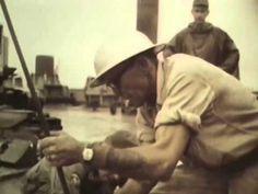Delong Pier Construction at Cam Ranh Bay 1966 US Army, Vietnam War: http://youtu.be/3I3AGcHkGqc #Vietnam #Army #1960s