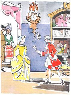 Сказочные Иллюстрации: В. Алфеевский - Щелкунчик и Мышиный Король*