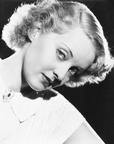 Bette Davis in The Petrified Forest, 1936