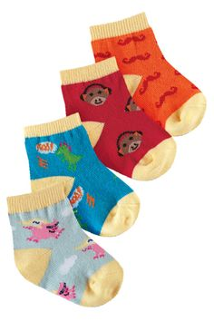 Probably my favorite combo pack of Sock It To Me baby socks!