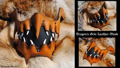 Dragon's Grin Leather Mask by Epic-Leather on DeviantArt