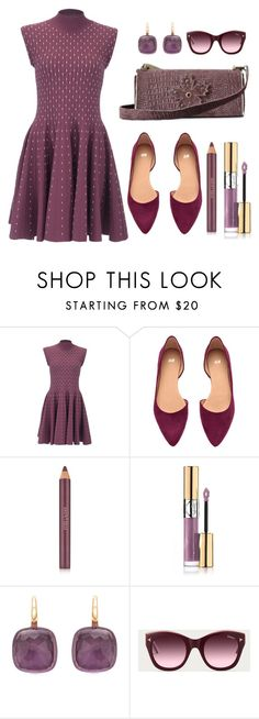 """""""DU-CHESS"""" by skull-and-crossbone ❤ liked on Polyvore featuring H&M, Estée Lauder, Yves Saint Laurent, Pomellato and Bally"""