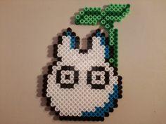 Little Totoro perler beads by PerlerPixie on deviantART