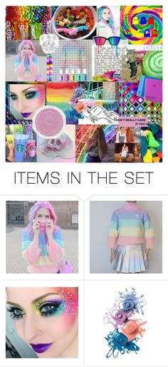 """""""I'm Not A Piece Of Cake"""" by tilliebeastie ❤ liked on Polyvore featuring art"""