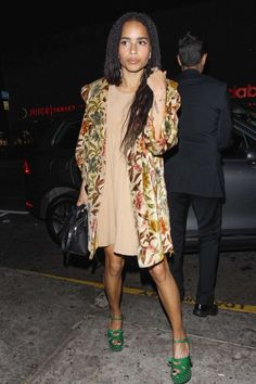 Zoe Kravitz at Reese Witherspoon's 40th Birthday Party in Los Angeles