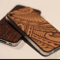 Polynesian design iPhone covers