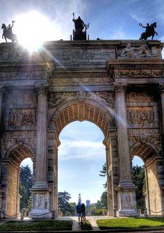 Arco della Pace, Milan, Italy - Travel