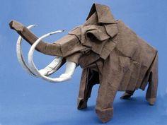 origami ICE AGE ELEPHANT