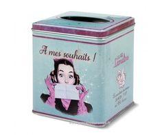 Boîte à mouchoirs A MES SOUHAITS Natives déco rétro et vintage - Provence Arômes Tendance sud