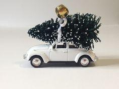 1967 Volkswagen Beetle Christmas Ornament Car Tree