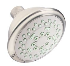 Danze DH151110 Tru 2.5 GPM Multi-Function Shower Head with 3 Functions and D-For Brushed Nickel Showers Shower Heads Multi Function