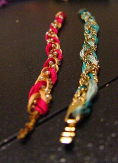 So Creative!: DIY Friendship bracelet. What to do with an oversized bracelet