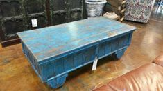 Old Teak trunk for a coffee table!