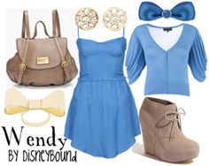 DisneyBound!    They have outfits that look like all the disney characters!! this is the coolest thing ever!