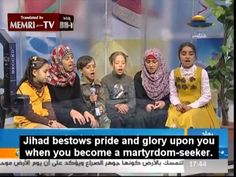 Young Relatives of Deceased Hamas MP Umm Nidal, Wish to Follow in Her Footsteps   In Hamas TV show, Gaza children sing praises of suicide bombing