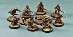 Bolt Action plastic WW2 Soviets with Victoria Miniatures bits