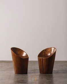 "LAFFANOUR - Galerie Downtown on Instagram: ""Pair of armchairs in solid exotic wood by the brazilian designer José Zanine Caldas from 1979. Zanine Caldas favored local and self-…"" Favors, Candle Holders, Wooden Chairs, Candles, Armchairs, Instagram, Design, Home, Solid Wood"