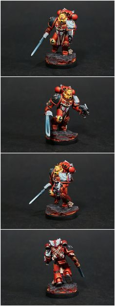 CoolMiniOrNot - blood angels space marine by penguin