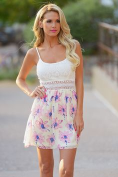 A Walk To Remember Dress - Pale Pink Floral from Closet Candy Boutique - #shop #newarrival