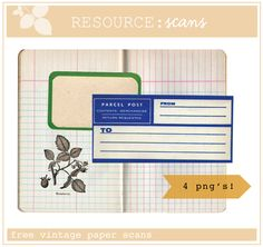 Free vintage paper downloads | The Mombot