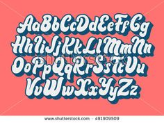 Find Comic Lettering Font Vector Alphabet stock images in HD and millions of other royalty-free stock photos, illustrations and vectors in the Shutterstock collection. Caligraphy Alphabet, Typography Alphabet, Graffiti Alphabet, Typography Fonts, Cursive Fonts, Groovy Font, Retro Font, Graffiti Lettering Fonts, Lettering Styles