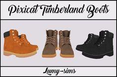 LumySims: Timberland Boots • Sims 4 Downloads