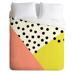 Allyson Johnson Mod Dots Duvet Cover | DENY Designs Home Accessories