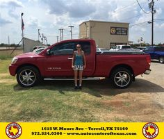 https://flic.kr/p/KiHqDz   Happy Anniversary to Brian  on your #Nissan #Titan from Sergio Betancourt at Auto Center of Texas!   deliverymaxx.com/DealerReviews.aspx?DealerCode=QZQH