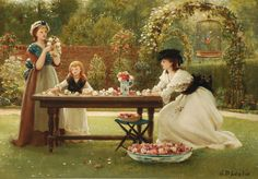 George Dunlop Leslie (1835-1921) - A feast of roses www.dnfa.com2048 × 1427Buscar por imagen George Dunlop Leslie (1835-1921) - A feast of roses PETER BARKER PINTURA - Buscar con Google