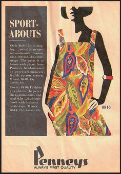 1960s Penneys fashion ad