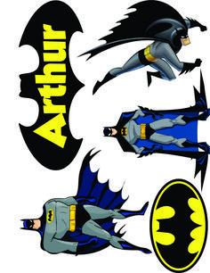 Batman Birthday, Batman Party, Superhero Party, Batman Cake Topper, Cake Toppers, Garfield Cake, Baby Batman, Friend Cartoon, Silhouette Projects
