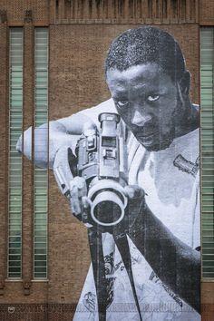 Artist: JR - Tate Modern, London