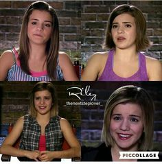 Riley during all the TNS' 4 seasons Credits in the pic talking heads Step Tv, Childhood Tv Shows, The Next Step, Best Series, Best Couple, Great Movies, Best Shows Ever, Brittany, Backstage