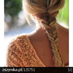 fryzura - kłos