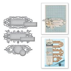 Shapeabilities Stacey Caron Renaissance Jubilee Jubilee Tags Etched Dies