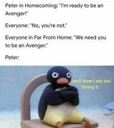 The post Spiderman Far From Home appeared first on Avengers Memes. Funny Marvel Memes, Avengers Memes, Marvel Jokes, Funny Memes, Hilarious, Stupid Memes, Marvel Fan, Marvel Avengers, Marvel Comics
