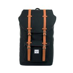 "Herschel Supply Co. Little America Backpack with Laptop Sleeve | Ingrid Nilsen ""Flight Essentials"" #missglamorazzi"