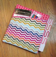 Planner Pouch / Case for inkWELL Planner Pink Chevron by SarieMae3