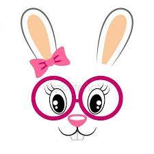 Afbeeldingsresultaat voor konijngezicht kleurplaat