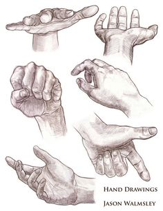 Drawings of Hands | walmsleySHOCK: Hands & Feet Drawings