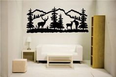 Boys Room: Newclew Elk deer nature mountain hunting removable Vinyl ... https://www.amazon.com/dp/B00BMFN964/ref=cm_sw_r_pi_dp_x_c3TFyb22BVZNV