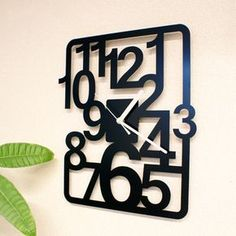 Laser Cut Lamps, Laser Cut Metal, Unique Clocks, Cool Clocks, Diy Clock, Clock Decor, Metal Sheet Design, Traditional Clocks, Gear Clock