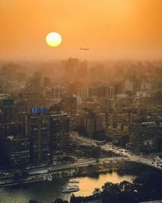 Visit Egypt, Airplane View, Celestial, Sunset, Outdoor, Egypt, Outdoors, Sunsets, Outdoor Games