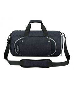 Gym Sports Small Duffel Bag for Men and Women with Shoes Compartment - -  Black - bcf3c16b6a3f0