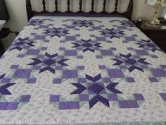 Gorgeous Purple Quilt by bynanaquilts on Etsy, $400.00